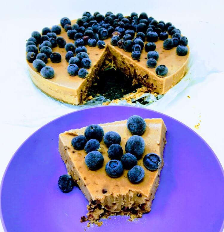 Easy Vegan Berry Cheesecake Recipe