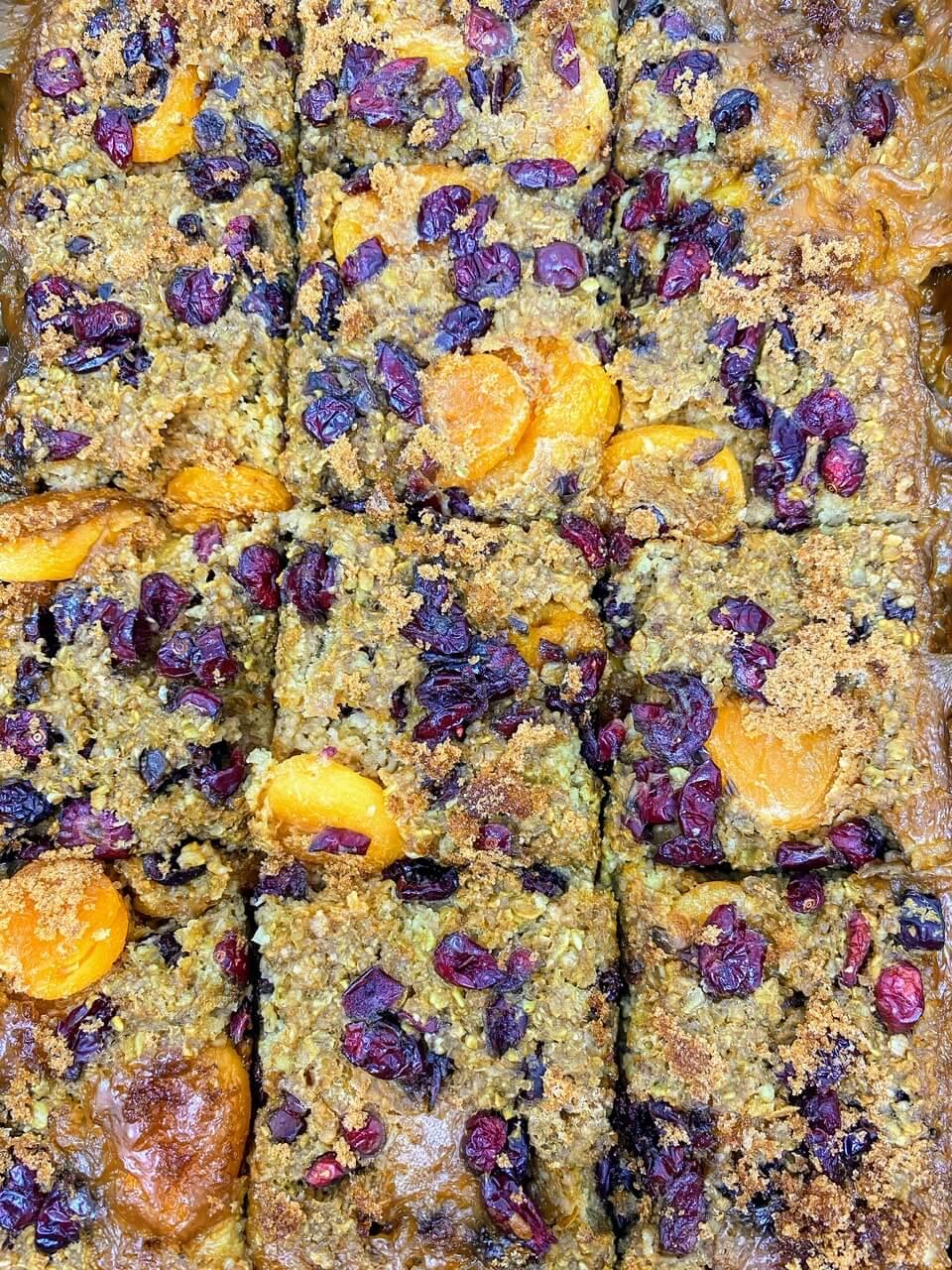 Pantry Items Dried Fruit Oatmeal Bake Non perishable recipe